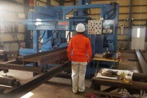 新潟県上越市にある上野工業保有設備|ドリルマシン DNFC1000【ダイトウ】